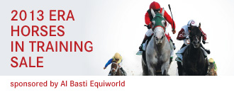 2013 ERA HORSES IN TRAINING SALE